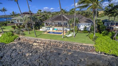 Photo for Kukuiula Kai - Gorgeous Oceanfront Home with Pool Steps Away from the Beach!