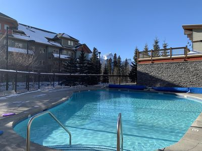Photo for Walk to all attraction in Canmore, easy access to Banff with free Park Pass