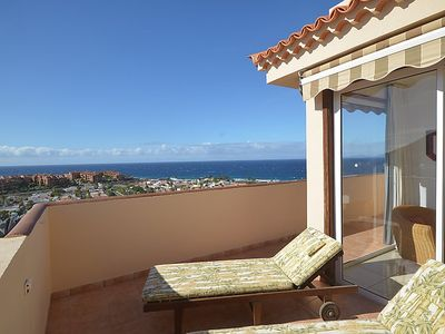 Photo for One bedroom Apartment, sleeps 3 in Palm-Mar with WiFi