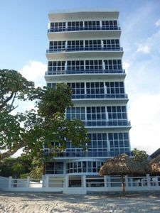 Photo for Lovely beach front Paradise Condo