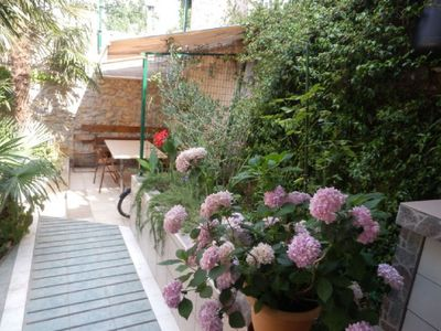 Photo for Olive Apartment, 20 m to the sea, 4 people,  ground floor, free WiFi, balcony