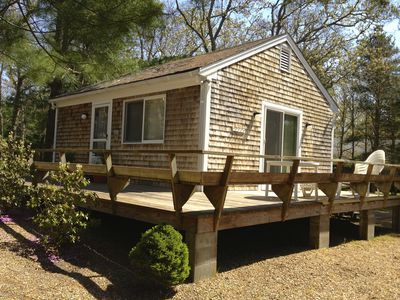 Our two bedroom small home at 37 Hamblen Way Edgartown.  Central ac/wifi/W/D