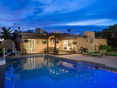 Photo for Desert Sun- 3BR Beautifully Designed Home w/ Resort Style Backyard & Heated Pool & Putting Green!