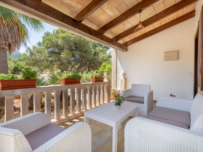 Photo for Air-Conditioned Holiday Home with Pool, Garden, Terrace & Wi-Fi