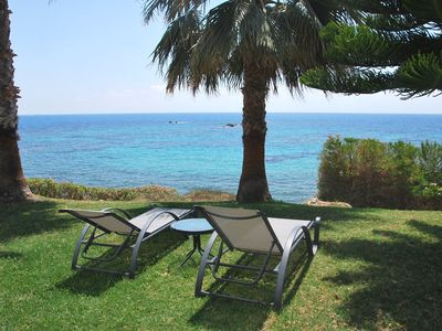 Photo for SEA FRONT VILLA IN THE HEART OF CORAL BAY, Short Walk to Amenities Amazing Views