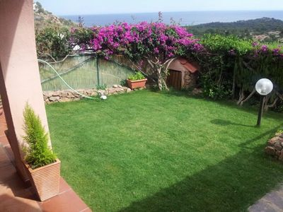 Photo for VILLA FRANCESCO ... SUGGESTIVE VILLA OVERVIEW 6 P. BED A FEW MINUTES FROM THE SEA