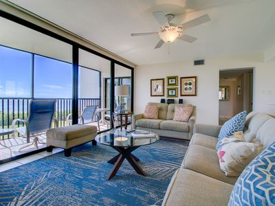 Photo for Sundial A201: Stunning Direct Gulf-Front Corner Unit with Amazing Views!