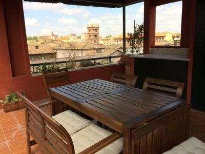 Photo for Ultimate Roman Panoramic Penthouse in center