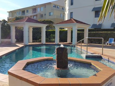 Photo for Breakers - Block 2 Unit 4, opposite Pippi Beach, Yamba, ocean view, pool, large balcony