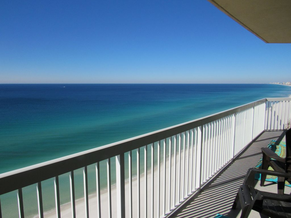 110 foot surround balcony 20th floor beachfront for Balcony surrounds