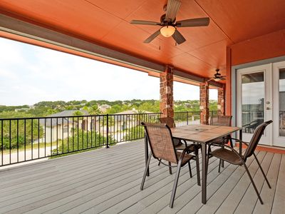 Photo for Open & Airy Lake Travis Retreat – Plenty of Outdoor Living