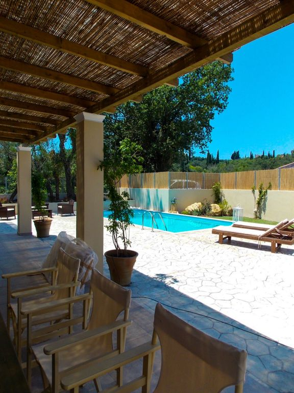 Perfect Holiday Villa Luxury And Private Swimming Pool Viros Corfu Ionian Islands