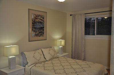 Quiet and cosy master bedroom with park view and a lot of daylight ,  170 sg.ft