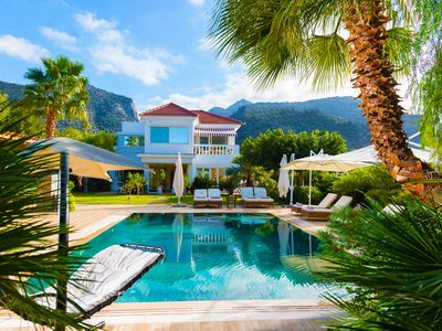 Photo for Garden of Aphrodite 5bed 5bath heated pool