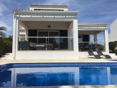 Photo for Na Macaret Villa Private Pool, Full Air cond  WiFi, In Cala Moli,3 beds 3 baths