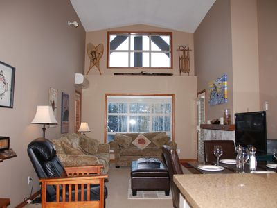 Photo for Penthouse 1-bdrm Ski-in/out! Spectacular! Sleeps 5. Free WIFI. Pool. 3 hot tubs