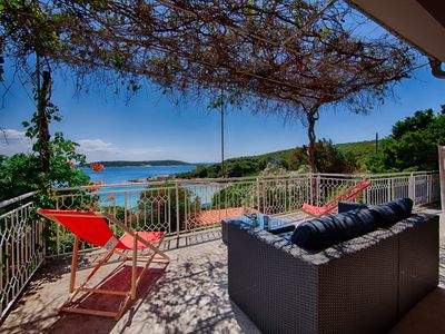 Photo for Striking and unique sea-view, romantic holidays in untouched nature family,