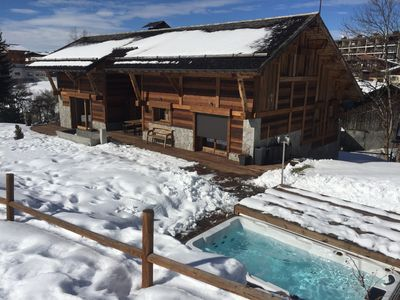 Photo for Luxury Chalet - Ski In Ski Out - Close to Village Center