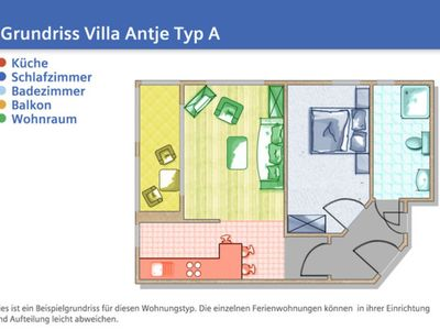 Photo for ANT08 - central location, 1 sep. Bedroom, WLan free of charge - Villa Antje
