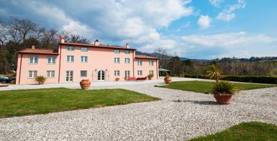 Photo for Villa Alessia- 5 bd private hilltop estate with pool and sauna in Lucca