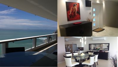 Photo for Oceanfront deluxe, 3-bedroom, 3 Bath, Condo/Penthouse