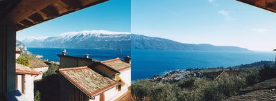 Photo for Stone Rustico in place with panoramic views of Lake Garda