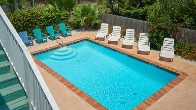 Casa Caracol A - Awesome 2 Bedroom Condo, Walk to the Beach, WiFi- PadreVacation