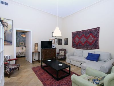 Photo for A Large Luxury Apartment near Piazza del Popolo