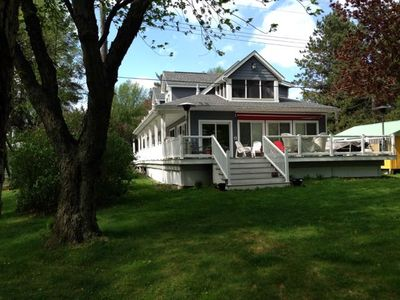 Photo for Lake Front Rushford Luxury Home New Build