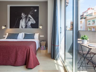 Photo for Quiet and cosy apartment in the heart of Barcelona