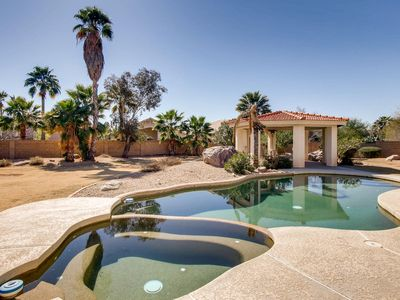 Photo for Oasis in central Scottsdale: Beautiful 3 bed(plus gym) home on huge lot w/pool!