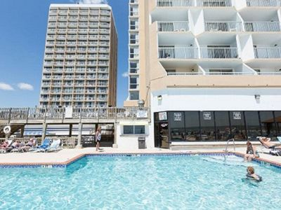 Photo for Sands Ocean Club - Myrtle Beach - Renovated! Directly on the Beach!