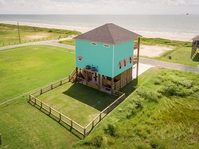 Photo for Nautibeach, Ocean View, Vacation, Dog Friendly, Sleeps 16, Crystal Beach, Texas