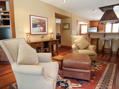 Photo for 7 Bedroom Custom Built Luxury House w/Hot Tub & Fireplace. Short Walk to Lifts!
