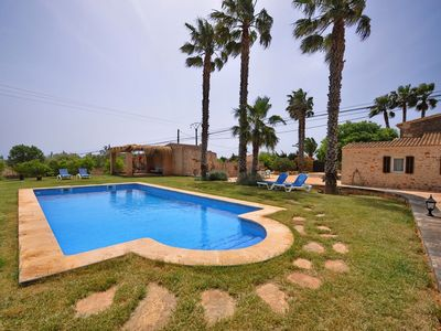 Photo for beautiful restored finca with pool, W-LAN, ZH for 6-7 pers. in it Llombards