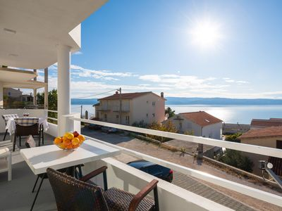 Photo for Apartment with Sea View Balcony in Duće, Omiš!