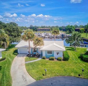 Beautiful waterfront rental with private dock