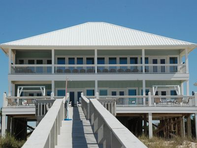 Photo for Available August 8-15 ! ; Luxury Beachfront -Sleeps up to 30, Indoor Elevator!