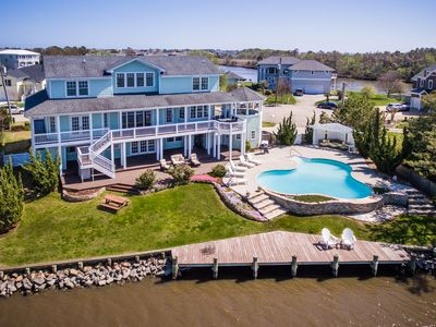 Photo for Bayside Retreat | 1820 ft from the Beach | Private Pool