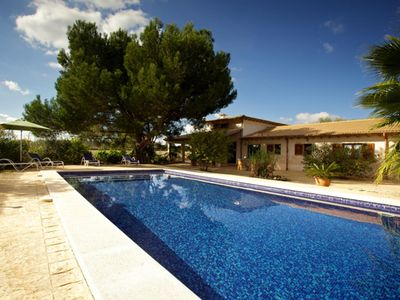 Photo for Modern country house with pool and views of the mountains located 2km from the sea