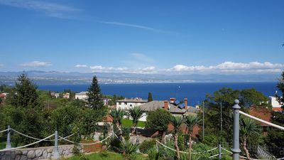 Photo for Villa Allegra in Lovran,  Family Apartment 102, Two bedrooms,Terrace- Sea view