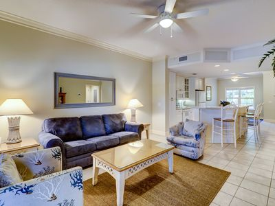 Photo for 104 NorthShore Place- 2 Bedroom Villa just 100 Yards to the Beach!