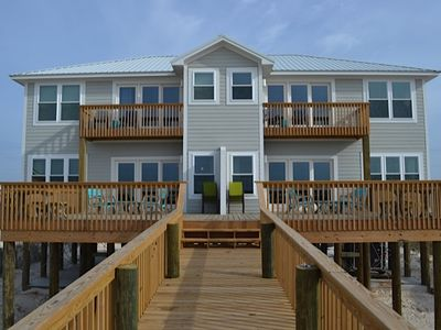 Photo for Gulf Front 3 Bedroom 3.5 Bath Duplex in Fort Morgan