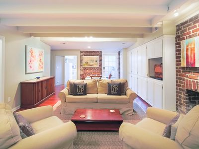 Photo for Stay Local in Savannah: Luxurious Garden Apartment on lovely Troup Square