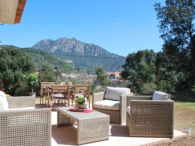 Photo for Independent villa 55 m2 on ground 500 m raised oaks and olive trees
