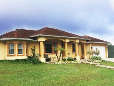 Photo for Beautiful 3/2 Private House W/ HUGE Lanai, 25 Min From Gulf Beaches!