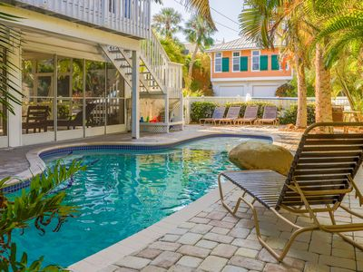 Photo for Charming, dog-friendly duplex with a shared pool and a Key West-style deck!
