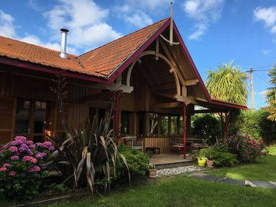 Photo for Beautiful wooden house 6 pers Andernos les Bains