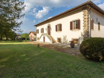 Photo for Ancient Medici villa with private pool and views of the hills of Mugello
