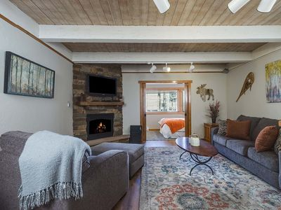 Photo for Best location in Breck! 150yds to ski lift, 2min walk into town. Heated garage.